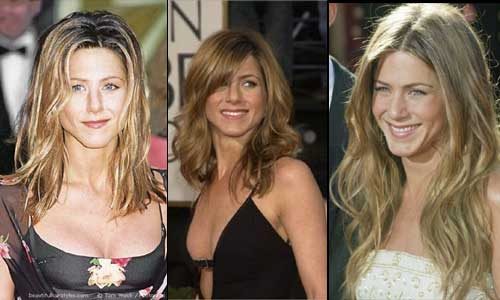 Jennifer Anniston Haircuts and Hairstyles