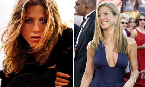 jennifer aniston hairstyles friends. Her hairstyle is famous since